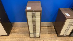 Bisley 30 Drawer Cabinet x 1