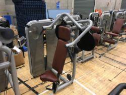Technogym vertical traction machine