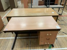 Office Desks x 2, Wooden