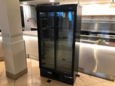 Gamco Glass Fronted Sliding Door Display Fridge