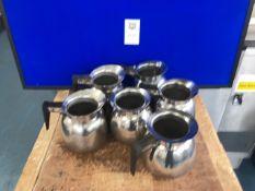 A set of water jugs