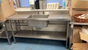 Double drainer sink