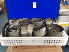 A quantity of cake tins