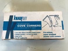 Pre-mitred standard Cove corners 2 X 127 mm. External 90° angles