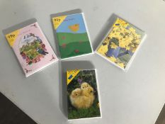 A selection of Easter cards