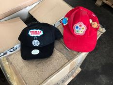 Red TWEENIES caps And Thomas the Tank Engine caps