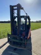 Linde H25d diesel forklift truck 5 Meter Triple Ma