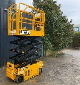 JCB S1930E Compact electric scissor lift