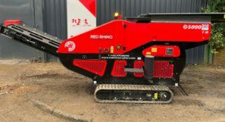 Red Rhino 5000 plus mini crusher
