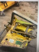 Pallet forks 13/20t with 65mm & 80mm