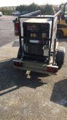 Miller RDA D402K 4+12 CC/CV DC diesel welder