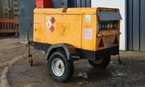 ArcGen Powermaker 15MV-K 15 kva trailer mounted ge