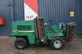 Ransomes commander 3520 4wd ride on reel mower