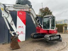 Takeuchi mini excavator/digger 8T