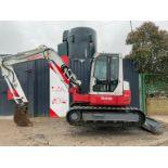 Takeuchi mini excavator/digger