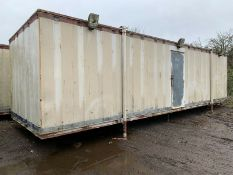 32ft Portable Office Site Cabin Drying Room Changi