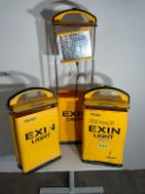 Exin Lights Portable Lighting x 3 NO RESERVE
