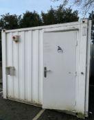 16ft x 9ft 3+1 Anti Vandal Site Toilet