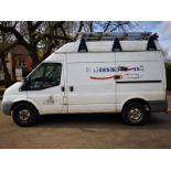 ENTRY DIRECT FROM LOCAL AUTHORITY Ford Transit 100