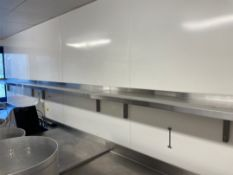 Stainless Steel Shelves x 3