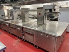 Charvet Pro 800 Series Commercial Cooking Station/