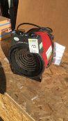 Elite Commercial 3kw fan heater