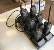 Kenwood handheld radios x6