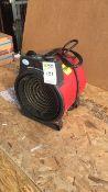 Elite EH2466 Commercial 3kw fan heater