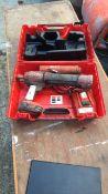 Hilti HDE500-A22 chemical dispenser