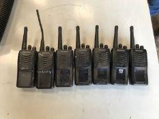 Kenwood handheld radios x7