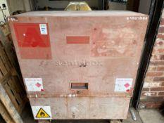 Sentribox Steel Lockable Mobile Storage Box