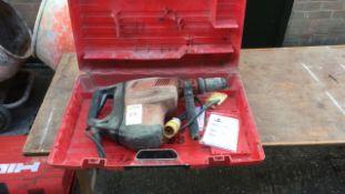 Hilti TE80 hammer drill
