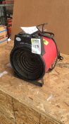 Elite EH1366 Commercial 3kw fan heater