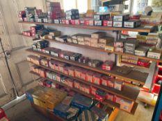 Large Qty Automotive Parts & Display Rack