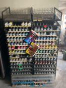 Aerosol Storage Racks & Contents