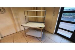 Stainless Steel Table - Heavy Duty