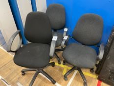 Office Chairs x 3