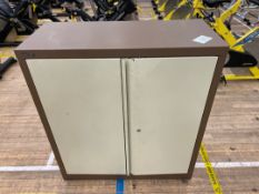 Storage Cabinet x 1, Double Door