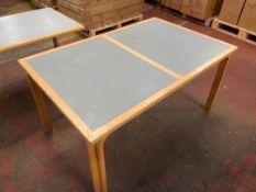 Magnus Olsen Wooden Topped Desk/Table
