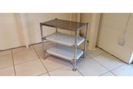 Stainless Steel Perforated Storage