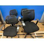 Office Chairs x 4