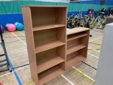 Bookcases x2