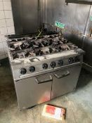 Falcon Dominator 6 Burner range