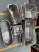 Selection Of Stainless Steel Serving Pots