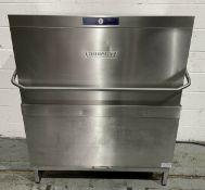 Hobart AMXT 10A Passthrough dishwasher