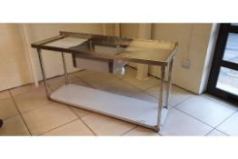 Stainless Steel Catering Sink - Heavy duty