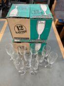 Luminarc Champagne Glasses x 34