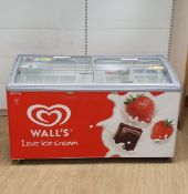 Double Door Walls icecream freezer