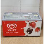 Double Door Walls icecream freezer
