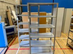 Storage Racks x 2, Metal